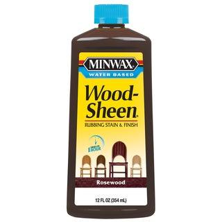 Minwax 30451 12 Oz Brazilian Rosewood Water Based WoodSheen Wood Stain