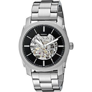 Fossil Men's ME3114 'Machine' Automatic Stainless Steel Watch