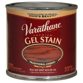 Varathane 224499 1/2 Pint Traditional Cherry Gel Stain