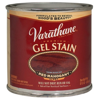 Varathane 224500 1/2 Pint Red Mahogany Gel Stain