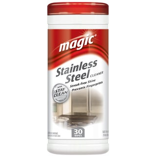 Magic 3060 Stainless Steel Cleaner Wipes With Stay Clean Technology
