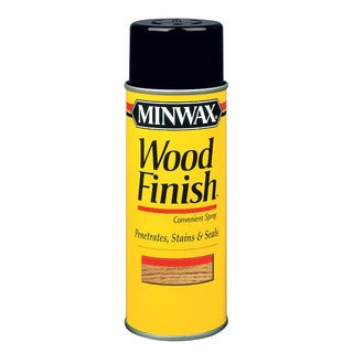Minwax 32350 12 Oz Wood Finish Cherry Wood Stain Aerosol Spray