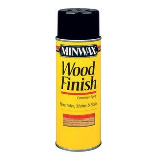 Minwax 32450 12 Oz Wood Finish Golden Pecan Wood Stain Aerosol Spray