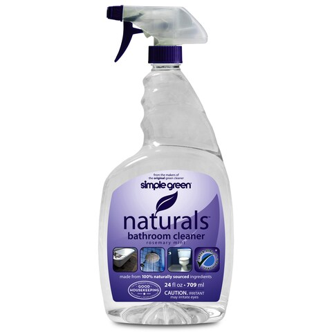 Simple Green 3110000612303 32 Oz Rosemary Mint Naturals Bathroom Cleaner