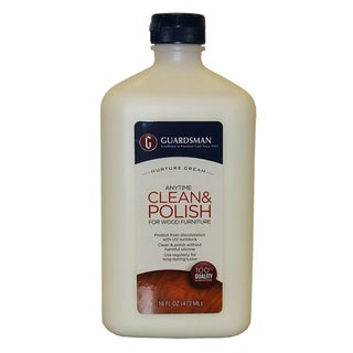 Guardsman 461500 16 Oz Cream Wood Polish