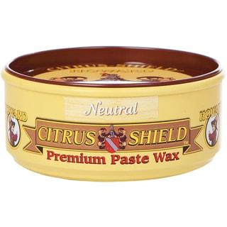 Howard CS0014 11 Oz Neutral Citrus-Shield Premium Paste Wax