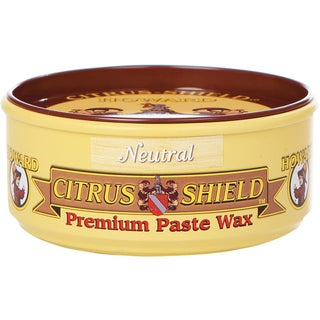 Howard CS0014 11 Oz Neutral Citrus-Shield Premium Paste Wax