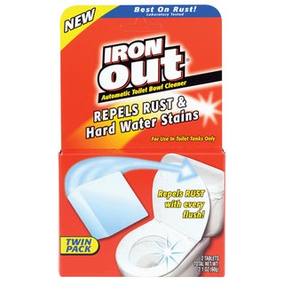 Iron Out AT12T Iron Out Automatic Toilet Bowl Cleaner