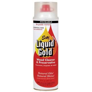 Scott's PT20 20 Oz Almond Scent Liquid Gold Wood Cleaner