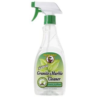 Howard GM5012 16 Oz Lemongrass-Lime Granite & Marble Cleaner