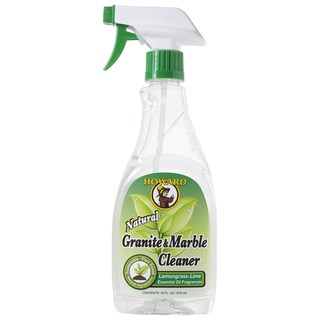 Howard GM5012 16 Oz Lemongrass-Lime Granite & Marble Cleaner
