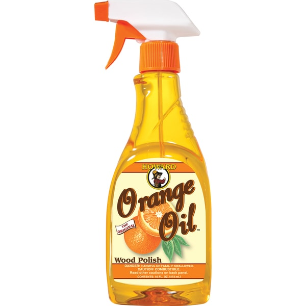 Shop Howard Ors016 16 Oz Orange Oil Wood Polish Spray