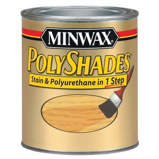 Minwax 61920 1 Quart Pecan Polyshades Satin Wood Stain