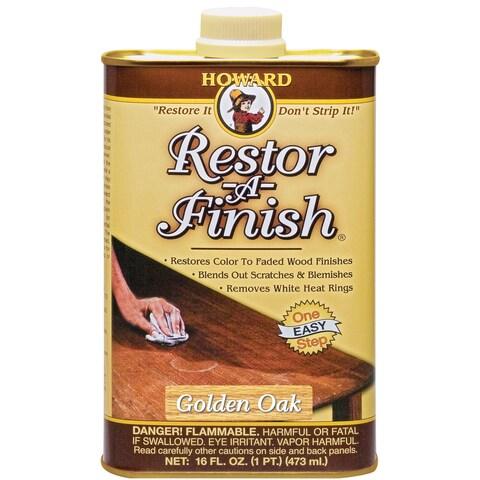 Howard RF3016 16 Oz Golden Oak Restor-A-Finish