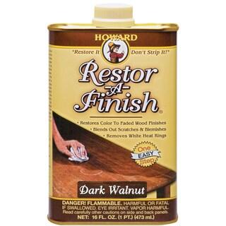 Howard RF6016 16 Oz Dark Walnut Restor-A-Finish