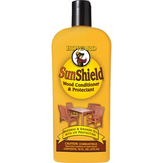 Howard SWAX16 16 Oz SunShield Wood Conditioner & Protectant