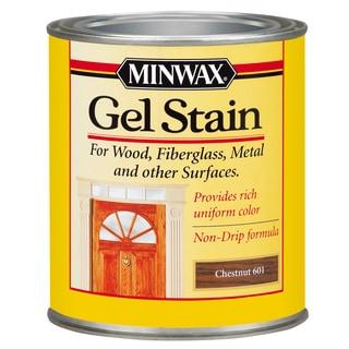 Minwax 66010 1 Quart Chestnut Gel Stain Interior Wood