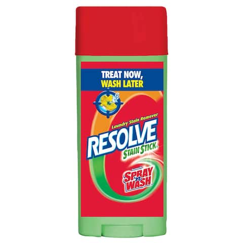 Resolve 81996 3 Oz Resolve Stain Stick Laundry Stain Remover