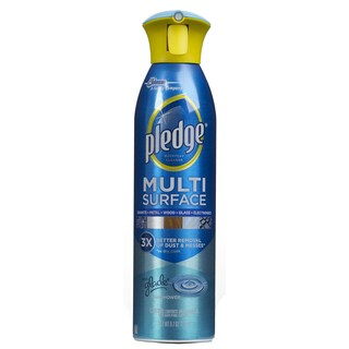 Pledge 72416 9.7 Oz Rainshower Scent Multi Surface Spray Cleaner