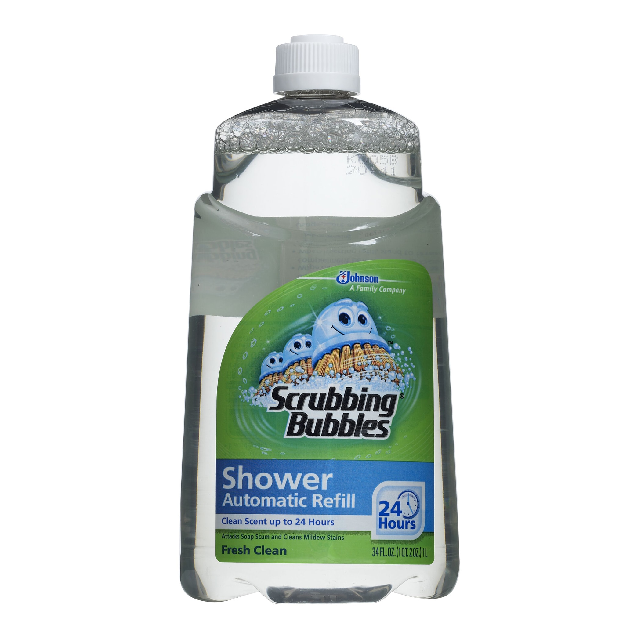 SC Johnson 70155 34 oz. Scrubbing Bubbles Automatic Showe...