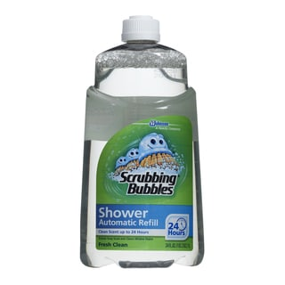 SC Johnson 70155 34 Oz Scrubbing Bubbles Automatic Shower Cleaner Refill