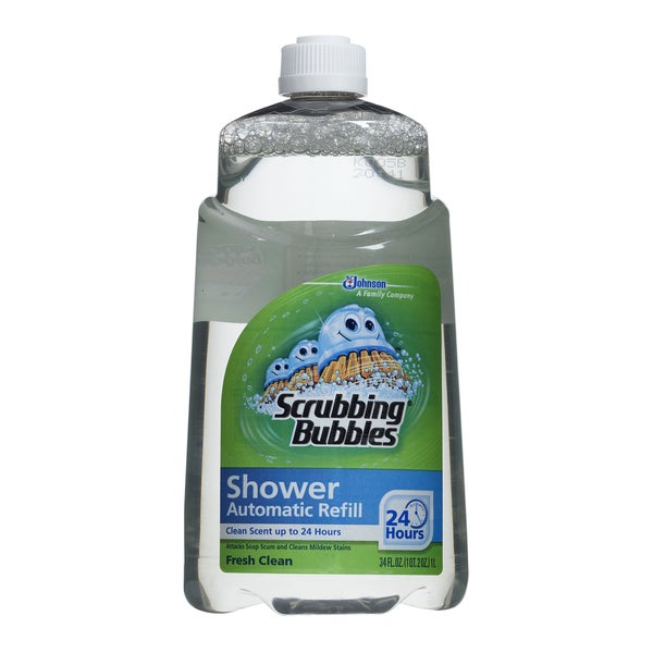 scrubbing bubbles shower cleaner machine