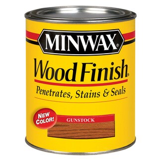 Minwax 70045 1 Quart Gunstock Wood Finish Interior Wood Stain