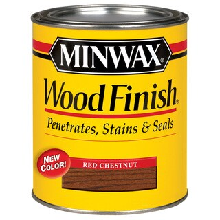 Minwax 70046 1 Quart Red Chestnut Wood Finish Interior Wood Stain