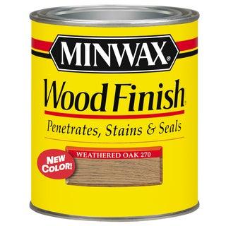 Minwax 70047 1 Quart Weathered Oak Interior Stain