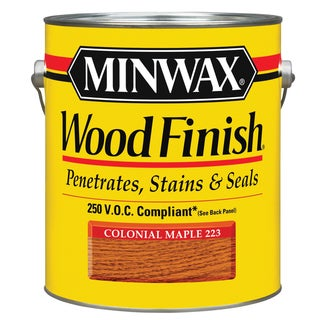 Minwax 71075 1 Gallon Colonial Maple Minwax Oil Based Interior Stain