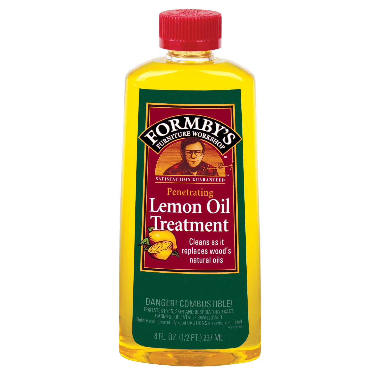 Formbys 30015 8 Oz Lemon (Yellow) Oil Furniture Treatment...