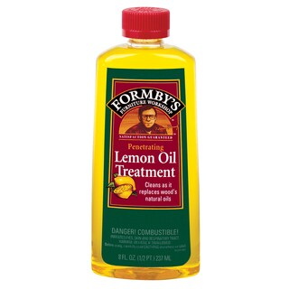 Formbys 30015 8 Oz Lemon Oil Furniture Treatment