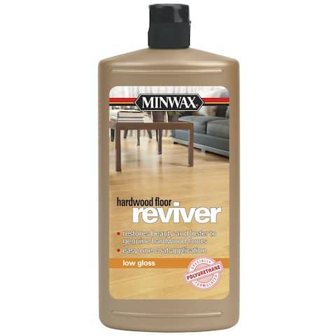Minwax 609604444 32 Oz Low Gloss Reviver Hardwood Floor Restorer