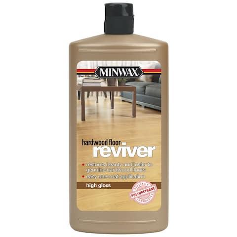 Minwax 609504444 32 Oz High Gloss Reviver Hardwood Floor Restorer