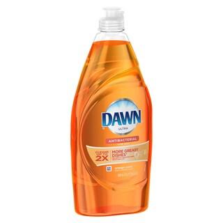 Dawn 91888 21.6 Oz Orange Ultra Anti-Bacterial Dishwashing Liquid