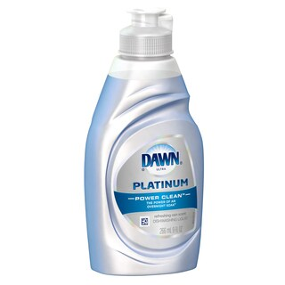 Dawn 00459 9-ounce Refreshing Rain Platinum Power Clean Dishwashing Liquid