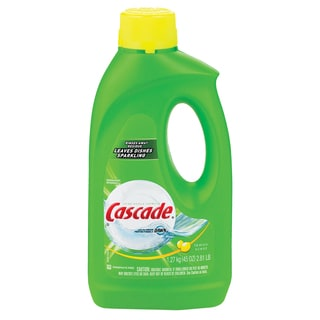 Cascade 40148 Cascade Gel Lemon Dishwasher Detergent