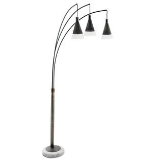 Nova Lighting Willow 3-light Arc Floor Lamp