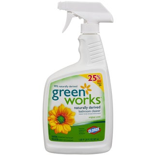 Green Works 30593 30 Oz Green Works Naturally Derived Bathroom Cleaner