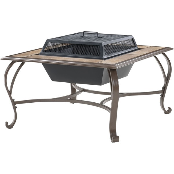 Cambridge Outdoor Wood Burning Fire Pit Coffee Table Free Shipping Today