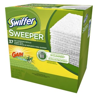 Swiffer 83060 Dry Sweeping Refills With Gain Fresh Scent 37-count