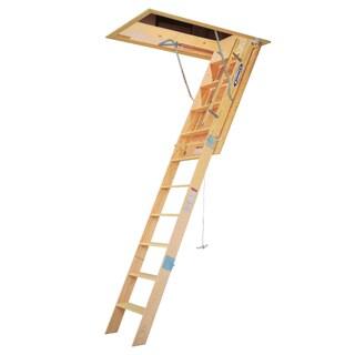 Werner WH2510 10' Wood Folding Heavy Duty Access Ladder