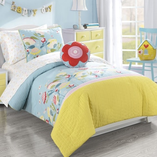 Frank and Lulu Cotton Rich Happy Valley Comforter Set with Shams