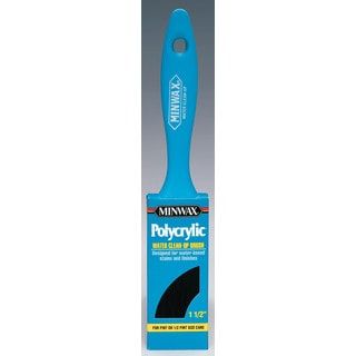 "Minwax 42731 1-1/2"" Minwax Polycrylic Paint Brush Brush"