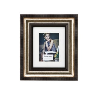 Bombay Bronze Glass and Plastic 5-inch x 7-inch Photo Frame
