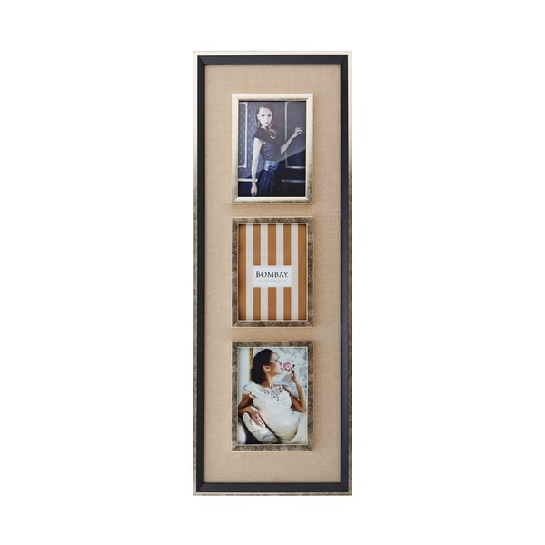 Bombay Plastic and Glass 3-opening Santa Fe Collage Frame - Free ...