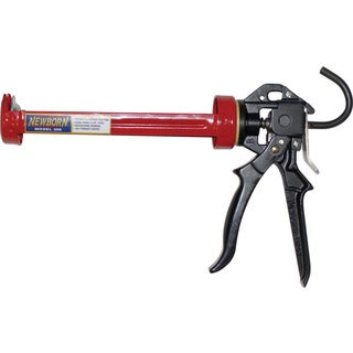 Newborn 250 1/10GL 1/10 Gallon Super Smooth Rod Caulk Gun