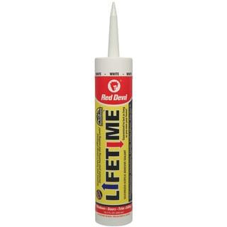 Red Devil 0856 Lifetime Brand Caulk With Silicone