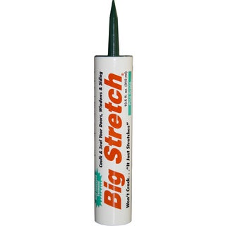 Sashco 10024 10.5oz 10.5 Oz Pine Green Big Stretch Water Based Caulk & Seal
