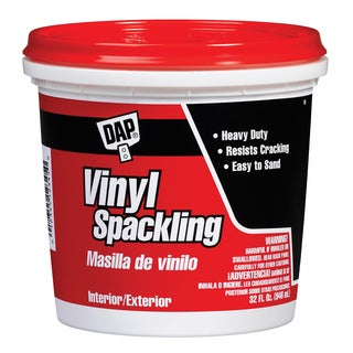Dap 12132 1 Quart Vinyl Spackling Compound Interior